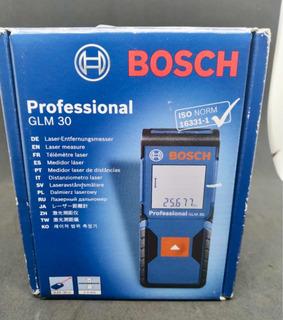Medidor De Distância 30 Mts Bosch Profesional Glm 30 Grtia.
