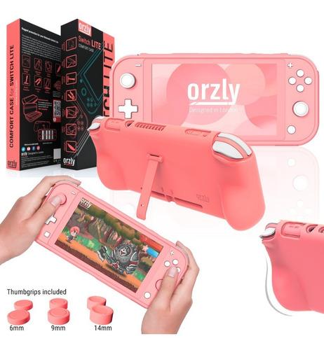 Imagen 1 de 10 de Nintendo Switch Lite Funda Grip Orzly Protección Premium