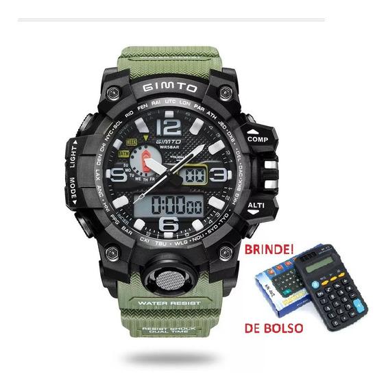 Relógio Gimto Gm 303 5atm + Brinde