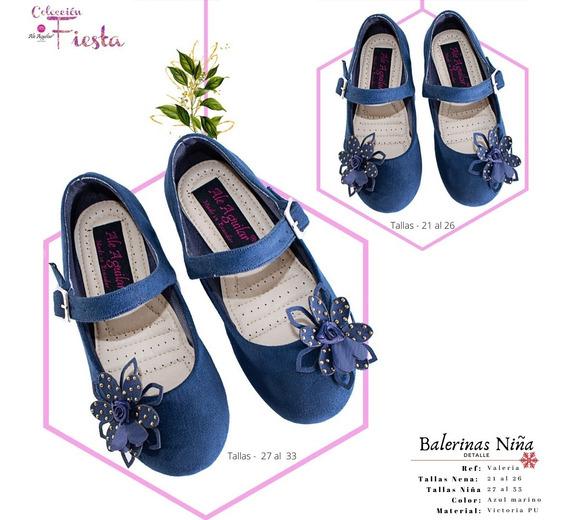Zapatos Para Niña Balerinas Tallas Desde 21 Hasta 33