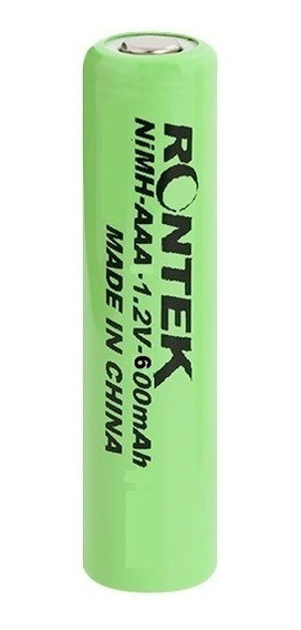 Bateria Recarregável Nimh 1,2v 600mah Aaa - Blister C/ 4 Pçs