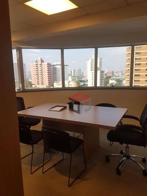 Sala Comercial Para Locação, Bairro Jardim, Santo André. - Sa3986