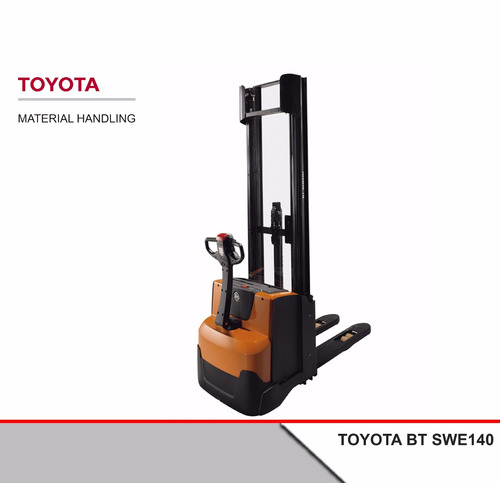 Apilador Toyota Bt Swe140 1,4 Tn + Batería + Cargador