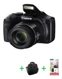 Canon Sx540 Hs 20mp Full Hd 50x Wi-fi Nfc + Bolso + 32gb