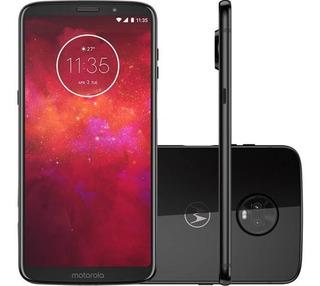 Celular Motorola Moto Z3 Play Xt1929 Dual 64gb Vitrine Nf