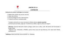 Alquiler De Holter Ritmo, Mapa 24, Ekg, Prueba De Esfuerzo