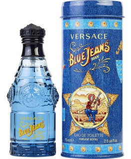 Blue Jeans Versace 75ml Caballero Original