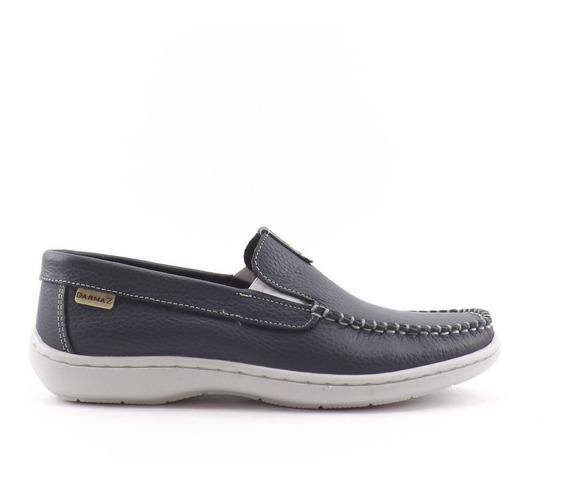 Zapatos Nautico Mocasín Hombre Cuero Darmaz Liquidacion