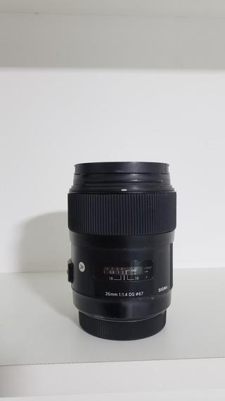 Lente Sigma 35mm Art 1.4 - Canon