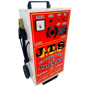 Carregador De Bateria 12v 50a Com Auxiliar De Partida-j.t.s-