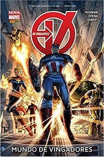 Mundo De Vingadores Hq Nova Marvel Panini Capa Dura