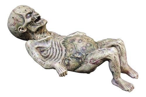 Imagen 1 de 1 de Decorativo De Látex Zombie Baby Puppet Halloween