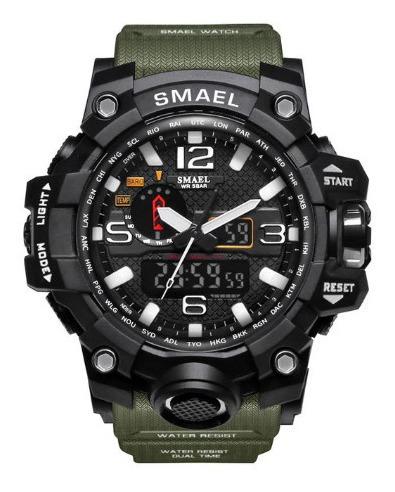 Relogio Masculino Militar Digital Na Moda Esportivo Smael Gr