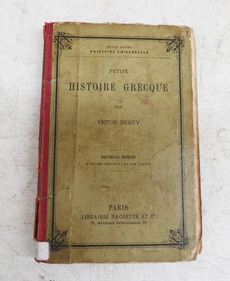 Livro Antigo Petite Cours Histoire Grecque Par Victor Duruy