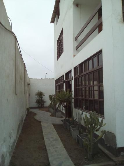 Casa / Local Comercial Frente A Panamericana Sur Lurin
