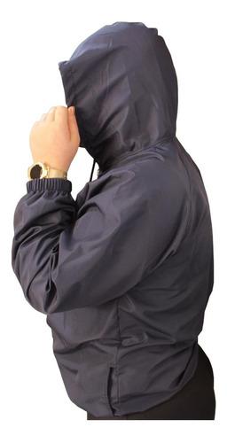 Imagem 1 de 4 de Corta Vento Blusinha Jaqueta Blusa Feminina Plus Size