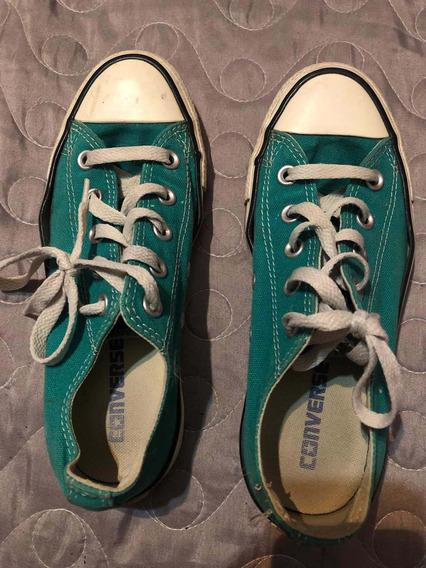 Zapatillas Converse Mujer Usadas Talle 35.5