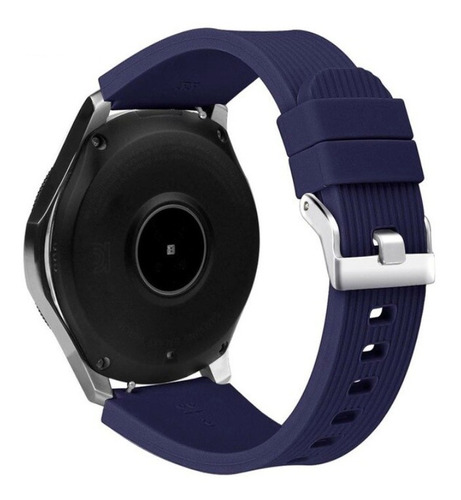 Pulseira De Silicone Para Samsung Galaxy Watch 46mm - Azul