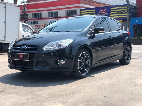Focus Hatch Titanium Plus 2015 Flex Teto Impecável