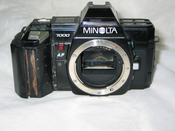 Camera Minolta 7000 Analogica Leia Tudo!