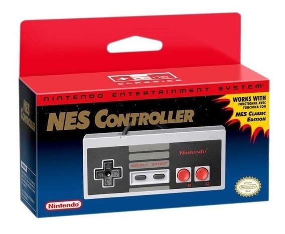 Controle Nes Classic Original Nintendo Extra Controller Nes
