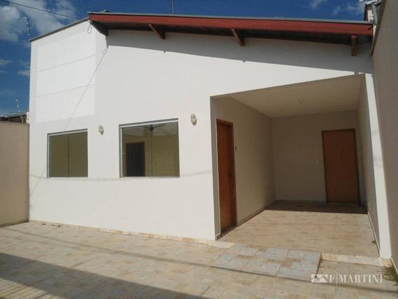 Casa Com 3 Dormitórios Para Alugar, 99 M² Por R$ 1.300/mês - Santa Rosa Ipês - Piracicaba/sp - Ca1561