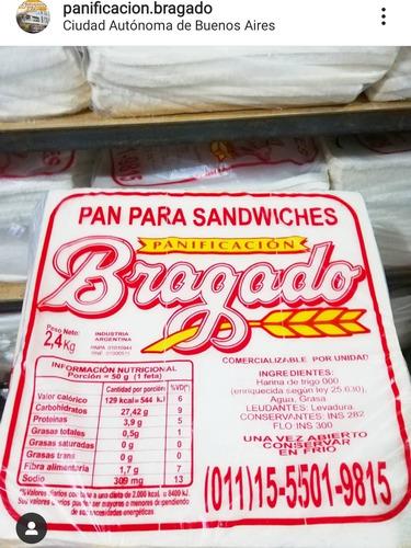 Pan De Miga 30x30 Para Hacer Sandwiches De Miga