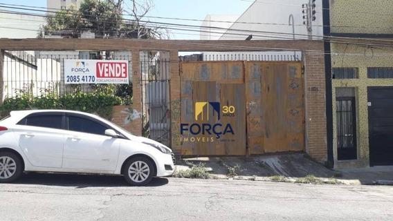Terreno À Venda, 450 M² - Vila Prudente - São Paulo/sp - Te0046