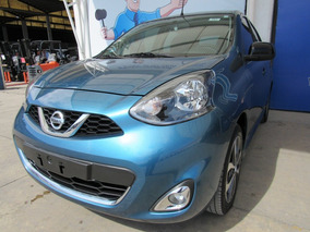 Nissan March Sr Climatronic 2016 E/e B/a Cd Bluetooth Navy