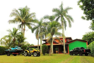 Rancho De Altíssimo Padrão Com Praia Exclusiva E Privada! - V1722317