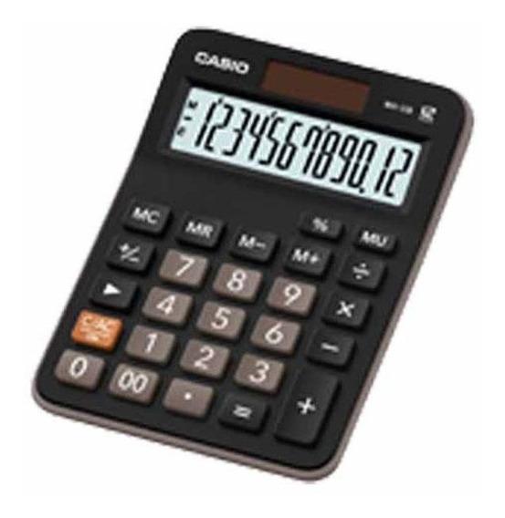 Calculadora Mesa 12 Digitos Mx-12b / Un / Casio