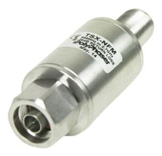 Protector Rf Coaxial Bloqueador De Cd Para 698 Mhz A 2.7 Ghz