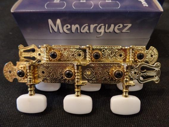 Clavijero Guitarra Dorado Paso Nacional 37mm Menarguez N 41