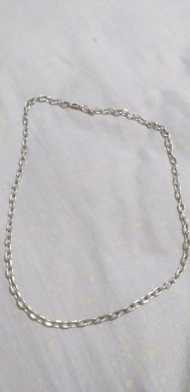 Cordão Em Prata 925 Com 39 Gramas Modelo Cadeado
