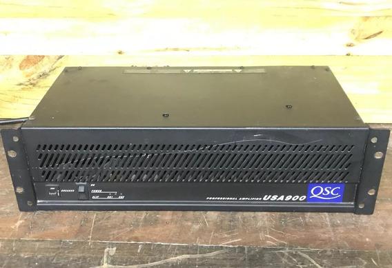 Amplificador De Potencia Qsc Usa 900 Made In Usa 900w