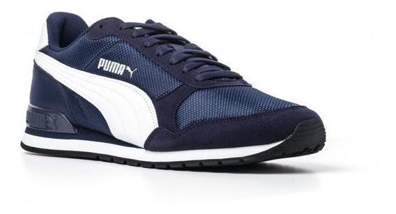 Tenis Puma Runner V2 366811 03 Masculino Original P/ Corrida