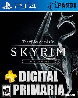 Elder Scrolls V Skyrim Special Ed + Plus - Ps4 Digital Pardo