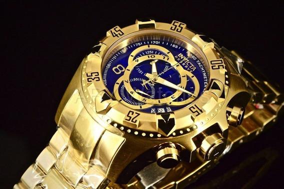 Relógio Invicta Original Excursion 6469 Banhado A Ouro