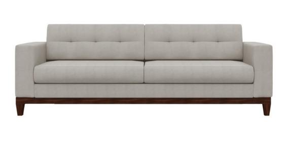 Sofa Hugo Pe Base Madeira Acquablock Impermeável 180cm