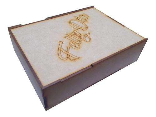Caja Desayuno Sorpresa - 15x20 - Con Tapa