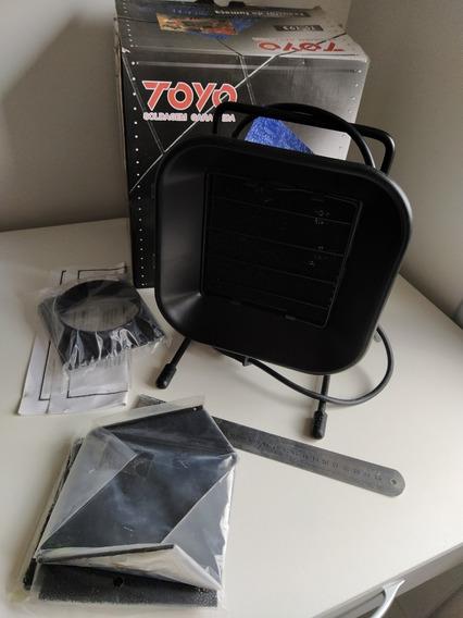 Exaustor Fumaça Bancada Solda Filtro Carvão 220v Toyo Ts193