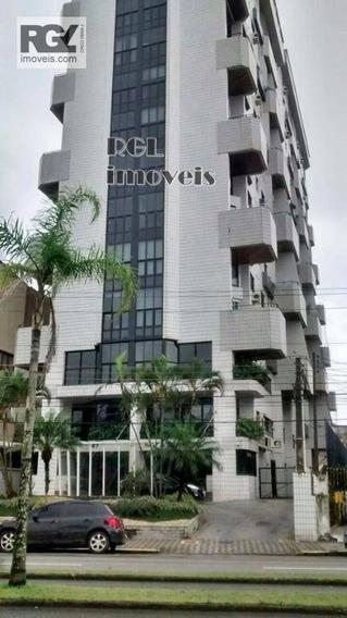 Apartamento Residencial Para Venda E Locação, Ponta Da Praia, Santos. - Ap3558