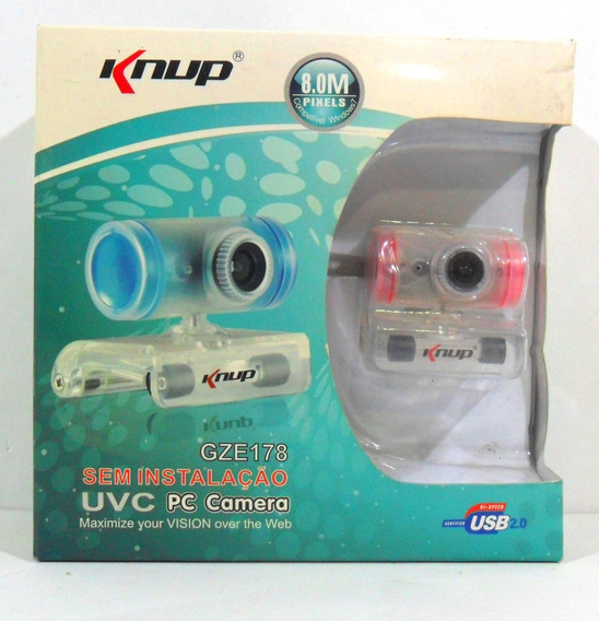 driver da webcam knup gze 102