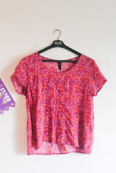 Camisa Floreada Materia