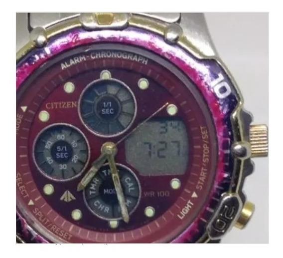 Relógio De Pulso Citizen Wr100m Unissex U01540 Webclock