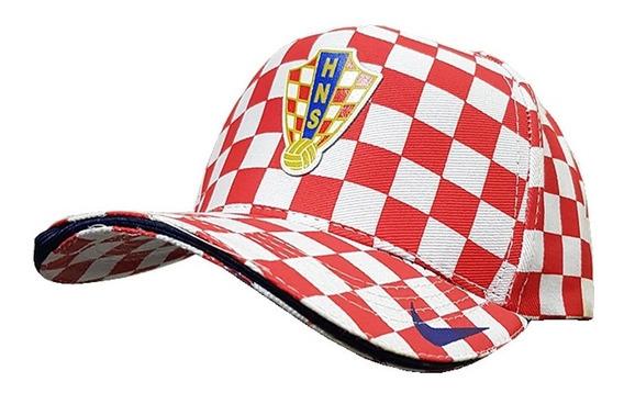 Gorra Nike Home Fútbol Croacia Visera Curva