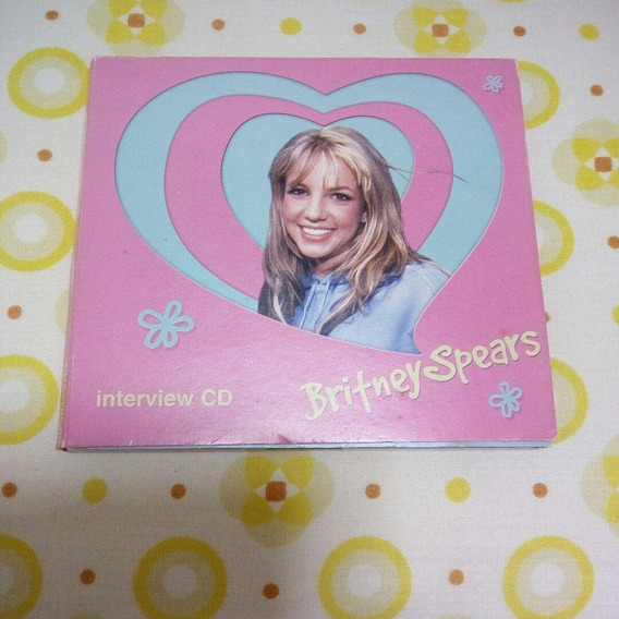 Britney Spears Cd Interview Era Baby One More Time