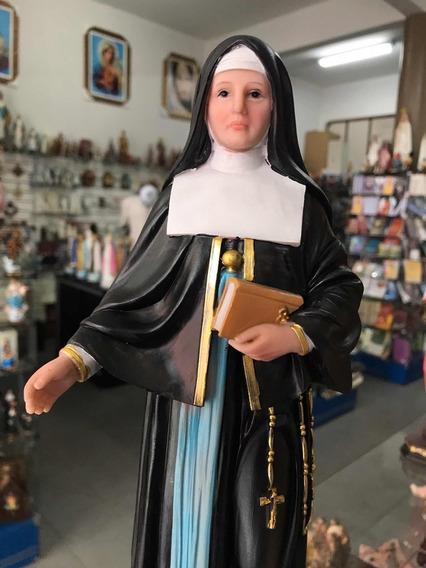 Imagem Santa Madre Paulina 30cm Resina Cd Brinde