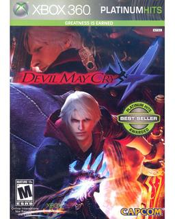 Devil May Cry 4 Xbox 360 Nuevo Original Sellado