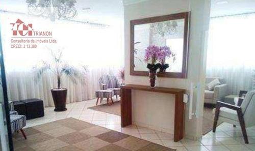 Apartamento Com 2 Dormitórios À Venda, 56 M² Por R$ 340.000,00 - Vila Alpina - Santo André/sp - Ap3157